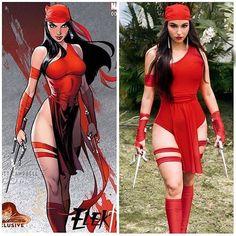 Juuliana Lopez - cosplay - elektra