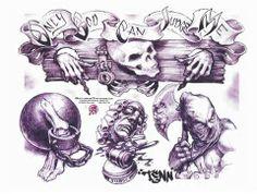 ... search: Boog Cartoon Gangster Chicano Tattoo Mister Flash Book | eBay