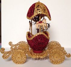 Quilled Egg Carusel