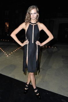 Best Dressed: Fashion Month Edition: Karlie Kloss in Alexander Wang at Le Bal hosted by MAC and Carine Roitfeld