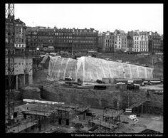Le trou des Halles - source: bibliothèques de la Cité de l'architecture et du patrimoine