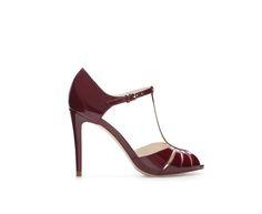 HIGH HEEL SHINY SHOE - Shoes - Woman | ZARA