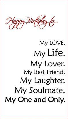 Boyfriend/Fiance/Husband Birthday Card by Linsartwork on Etsy, $4.95