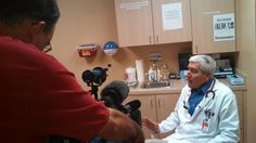 Dr. Robert Shiroff with Volunteers In Medicine interviewed by 8 News Now