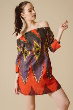 4bd22d5640d82 Allegra Bardot Dress in Red Fire   Flames. Sustainable ClothingSustainable  ...