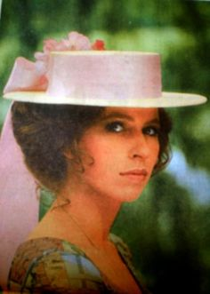 This pink hat look so sweet on HRH The Princess Anne, later Princess Royal (1973).  She tends to look stern in photographs, but this is flattering.