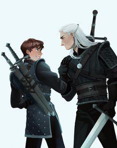 Fantasy Character Design, Character Aesthetic, Character Design Inspiration, Character Concept, Character Art, Horror Comics, Dc Comics, The Witcher Geralt, Witcher Art