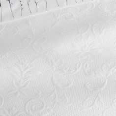Classic Portuguese Duvet Covers with regal patterns and exquisite detailing. 100% Pima cotton combined with 100% Egyptian cotton, Matelassé weave, machine washable, 400g/m2. Made in Portugal.