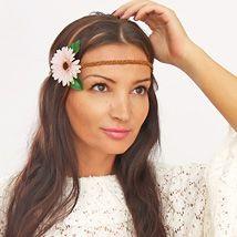 Accessory DIY Tutorial: Flower Hair Band – Hippie Hair Jewelery