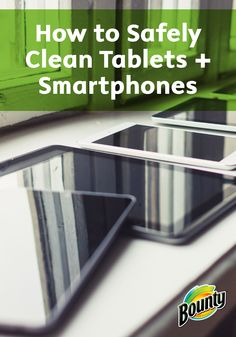 Keep your valuable tablets, smartphones, and other electronics clean and dust-free using Bounty Paper Towels. Check out this great tutorial for How to Safely Clean Electronics.