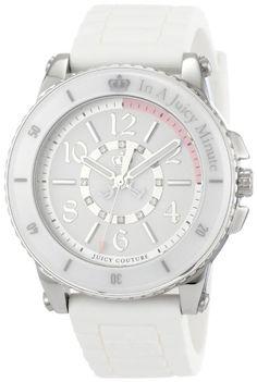 Juicy Couture Women's 1900788 Pedigree White Ceramic Bezel Watch
