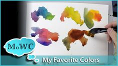 Tips on How to Select Colors for a Basic Watercolor Palette Watercolor Mixing, Watercolor Video, Watercolour Tutorials, Watercolor Artists, Watercolor Pencils, Watercolor Techniques, Watercolour Painting, Painting & Drawing, Watercolors