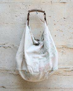 Tote bag made from Japanese Sake Bags
