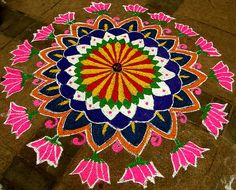 Rangoli   Colour Art