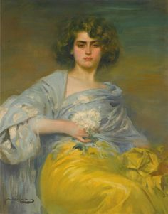Ramón Casas i carbo - 1866-1932 - Julia, 1908