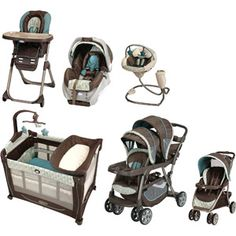 Graco - Oasis Baby Gear Collection Bundle