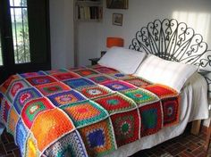 Seu quarto colorido.