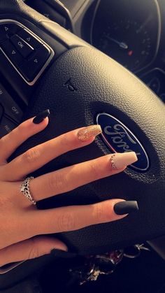 78 best nail colors designs for summer rose idea the best ideas for fashion 53 Colorful Nail Designs, Acrylic Nail Designs, Colorful Nails, Aycrlic Nails, Hair And Nails, Coffin Nails, Stylish Nails, Trendy Nails, Gucci Nails