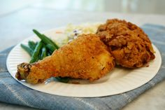 Fried Chicken Recipes, Baked Chicken, Meat Recipes, Cooking Recipes, Dinner Dishes, Food Dishes, Main Dishes, Perfect Fried Chicken, Chicken