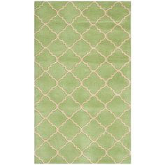 Captivating Possible Kitchen Rugs: Safavieh Chatham Collection Handmade Wool Area Rug,  By Green Safavieh