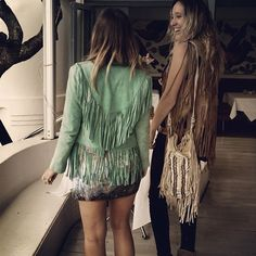 Fringe Fest! Spell designs Cowgirl Dreams Tassel Jackets and Coachella Tassel bag.