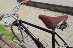 Black metallic bike Campione
