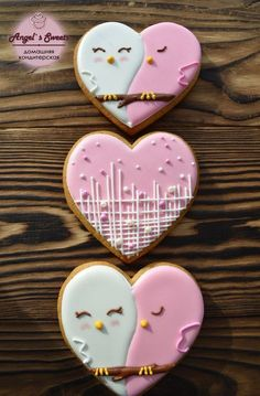 26+ Ideas For Cupcakes Cakes Ideas Valentines Day Fondant Cupcakes, Cookies Cupcake, Valentine's Day Sugar Cookies, Fancy Cookies, Heart Cookies, Iced Cookies, Cute Cookies, Cookies Et Biscuits, Fondant Toppers