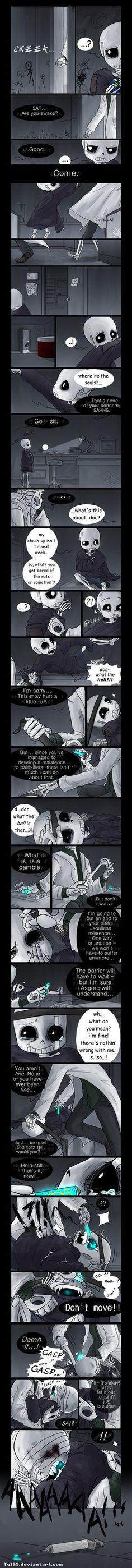 Window to the Soul (Undertale Comic) by Tyl95.deviantart.com on @DeviantArt