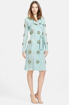 Burberry Prorsum Embellished English Lace Trench Coat available at #Nordstrom ONLY $6500!!!