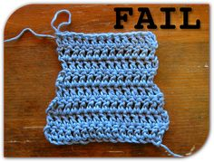 """Great tutorial that """"demystifies double crochet"""" so you know how to crochet the end of the row, turn, and start the next row. It gives you straight edges this way. ~"""