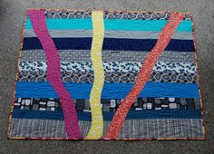 Anne's Sunrise - Quilting with Magnifico thread by Superior Threads