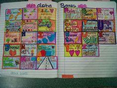 Alpha Boxes:  Petits Grans Artistes!