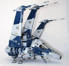 LEGO Ideas - Delta-class JV-7 Escort-Shuttle
