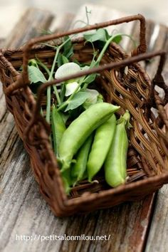 fresh pea | eating clean improves your sense of smell and taste