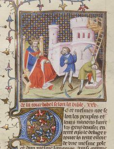 Guyart des Moulins, Bible historiale [La Bible historiaux, ou les histoires escolastres]. Tome Ier