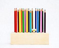 Pencil Holder DRAWING DAISY
