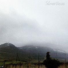 #orduña con niebla y nieve #bizkaia #Vizcaya #paisvasco #basquecountry #euskadibasquecountry #turismoeuskadi