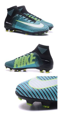 hot sale online 765a2 15a1f Nike Mercurial Superfly V FG Mens Soccer Cleat - Blue White Yellow