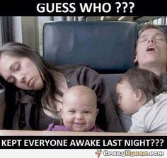 Humorous+picture+of+a+family+that+is+tired,+because+the+baby+was+cring+so+much,+that+it+didn't+let+anybody+else+sleep