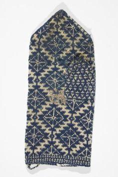 An old mitten pattern from Estonia