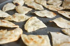 From Scratch: Homemade Corn Tortilla Chips!
