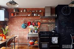 Industrial Kitchen by Cassidy Hughes Interior Design & Styling
