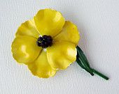 Yellow Flowers A Tribute to Mother VJSE Team Challenge Treasury #vjse2 #vintage #jewelry #bestofetsy #etsybot2