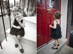 Ashlee D Photography: Breakfast at Tiffany's; vintage; classic; girl toddler photo idea