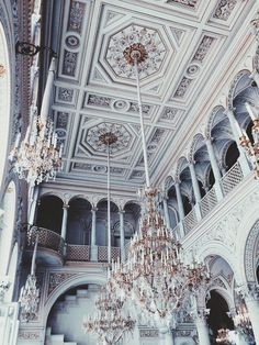 White high ceilings