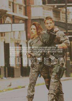 Can this PLEASE happen? Budapest. Black Widow and Hawkeye