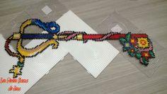 Keyblade from Kingdom Hearts Hama Perler Beads