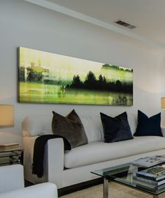 Look at this Departure Lounge Gallery-Wrapped Canvas on #zulily today!