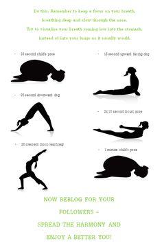 Easy quick yoga routine