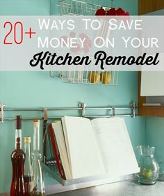 Ways to save money on kitchen remodeling and kitchen renovations.